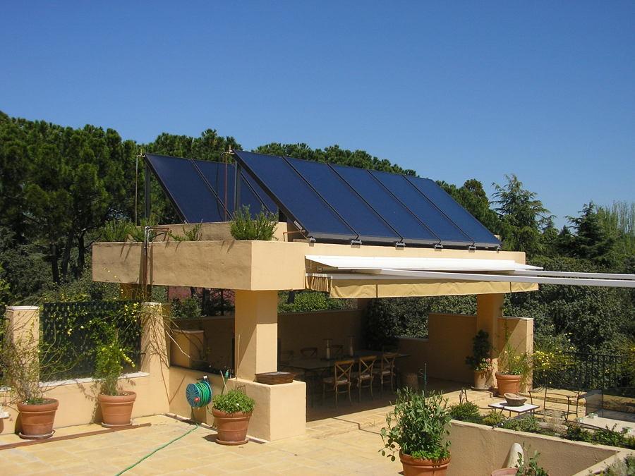 Instalación Solar en Cenador
