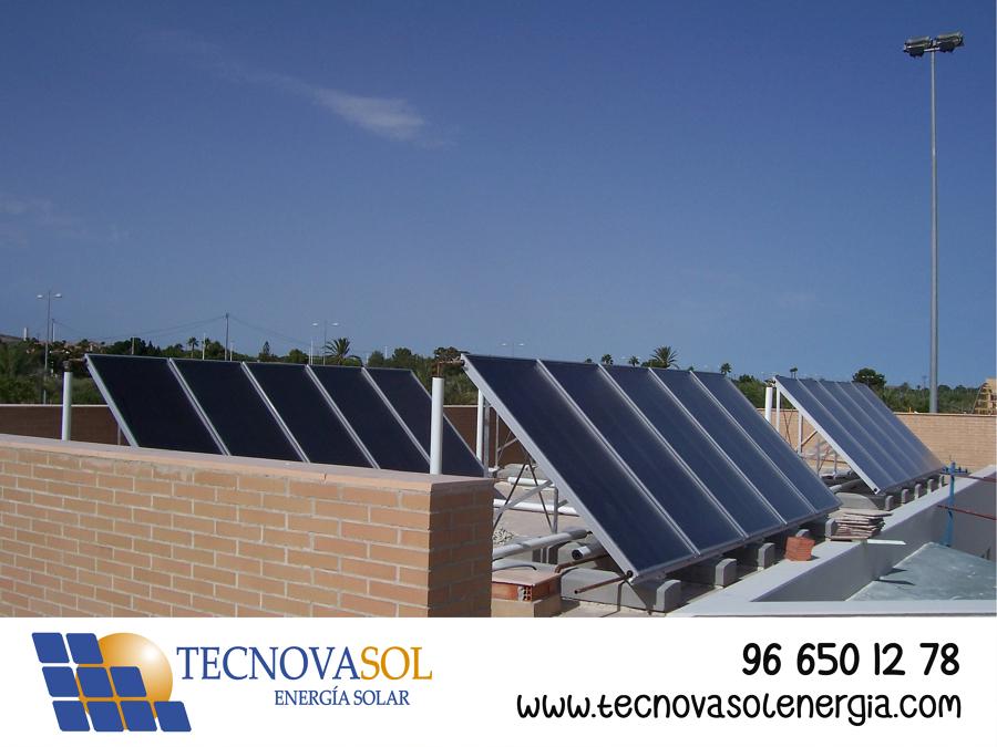 Instalación Solar Térmica para ACS