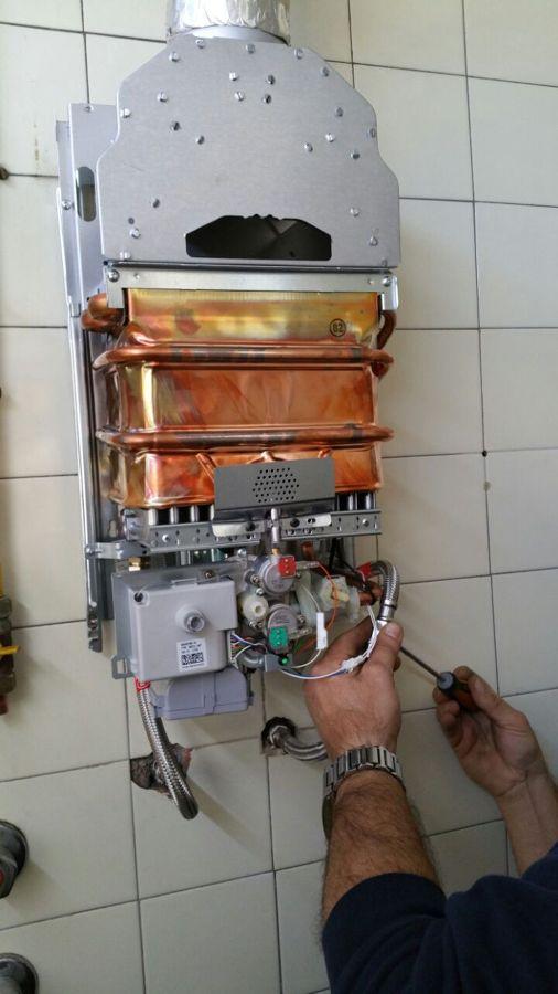 foto instalaci n termo a gas junkers de instalaciones
