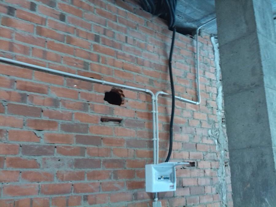 foto instalaci n tubo visto de alonso y espina