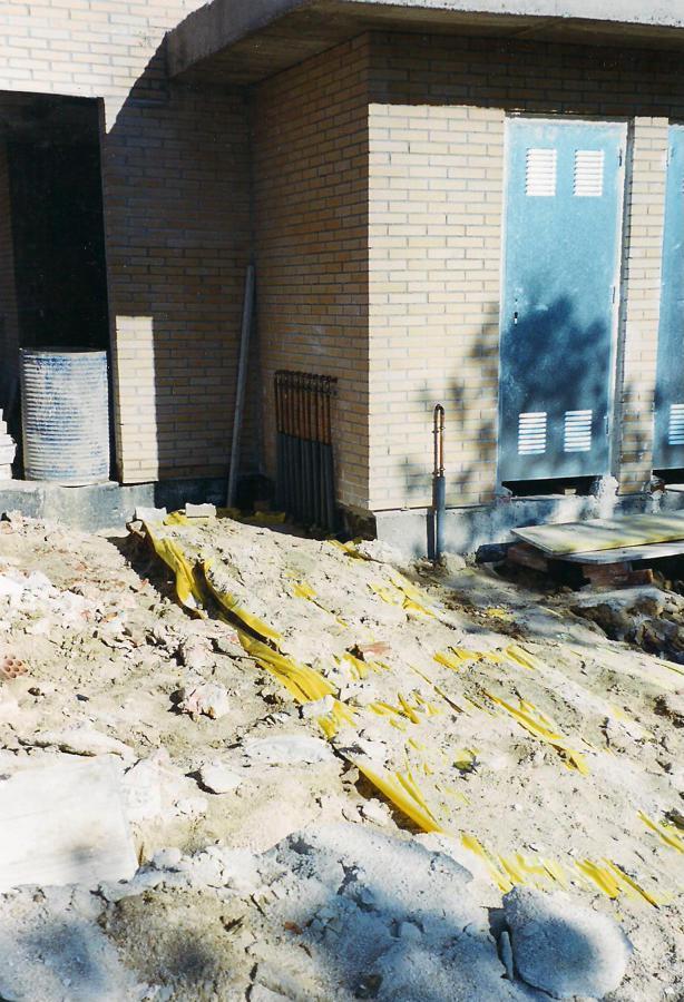 Instalaciones de gas enterradas