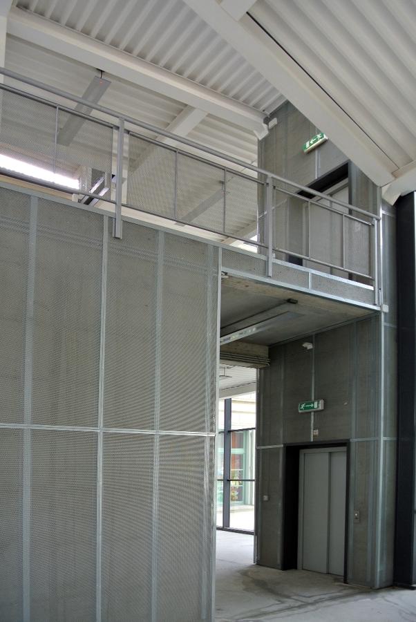 interior de edificio de uso público
