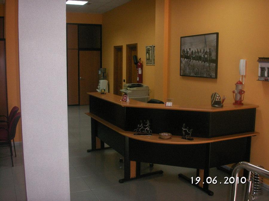 Interior de Oficina de Innosur.