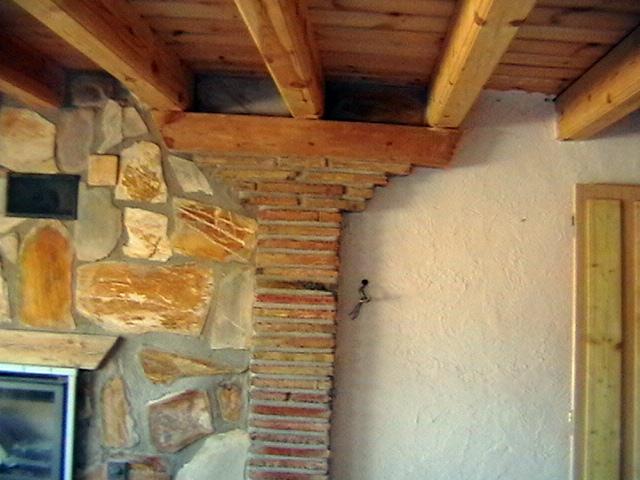 interior en casa rural