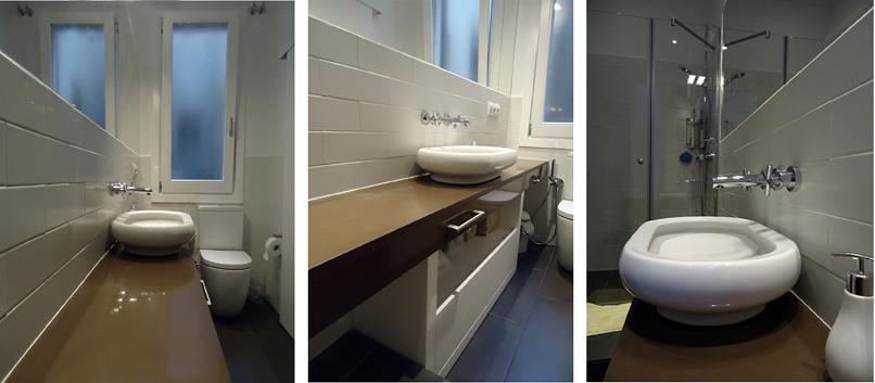 Reforma Baño Estrecho:Foto: Interiorismo y Reforma Baño en Barcelona de Floc Products Sl