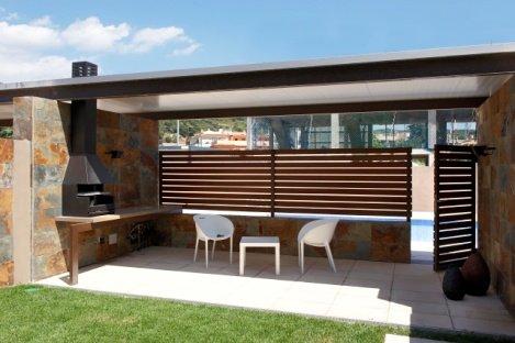 Foto jard n con barbacoa de reforma in barcelona 428244 habitissimo - Jardin con barbacoa ...