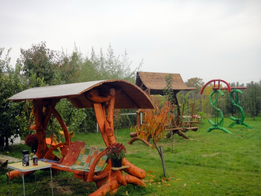 Columpio madera jardin ikayaa ld swing tumbona columpio hamaca para jardn patio mueble de jardn - Columpio madera jardin ...