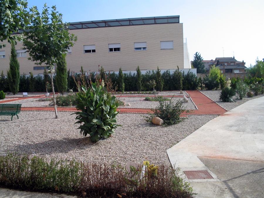 Jardin para paseo