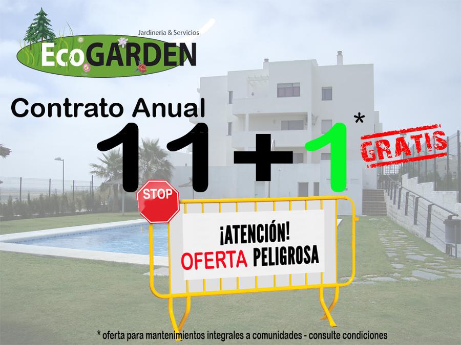 jardineria cantabria ecogarden promo anual