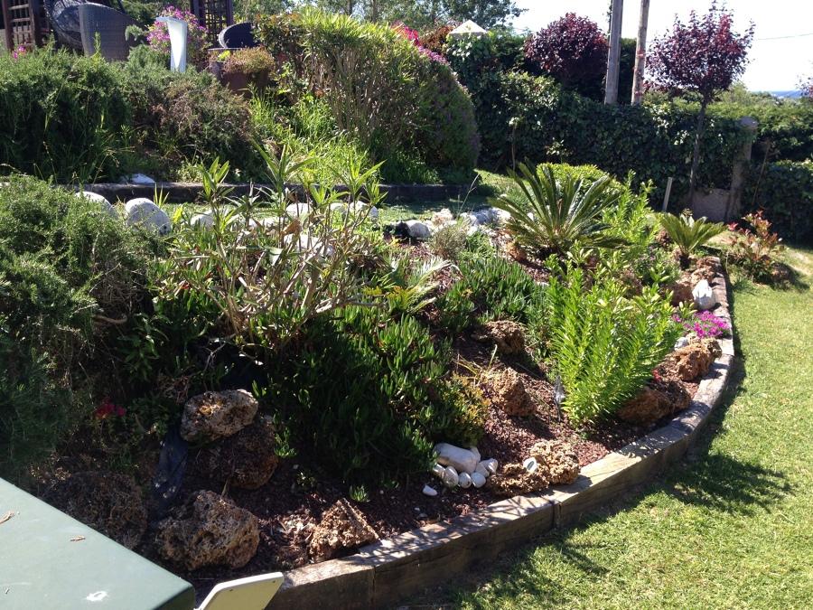 jardines en pendiente