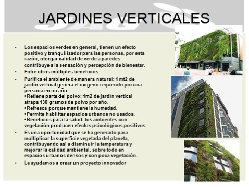 Foto jardines verticales de jag seguridad industrial y for Jardines verticales valencia