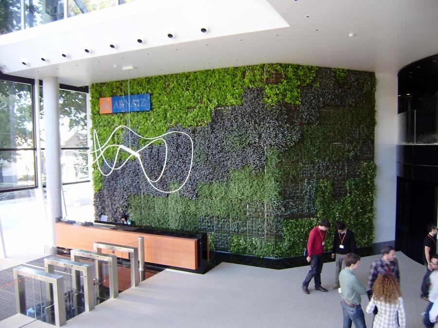 Foto jardines verticales de jardineria vivanatura 317028 for Jardines verticales valencia
