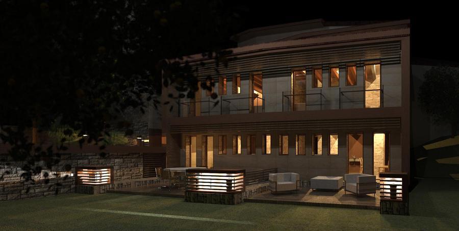Foto casa rural extremadura de eralonso arquitectos - Arquitectos en soria ...
