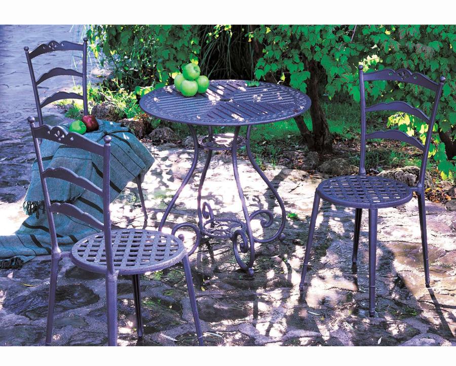 Juego de Jardín con Mesa y Sillas