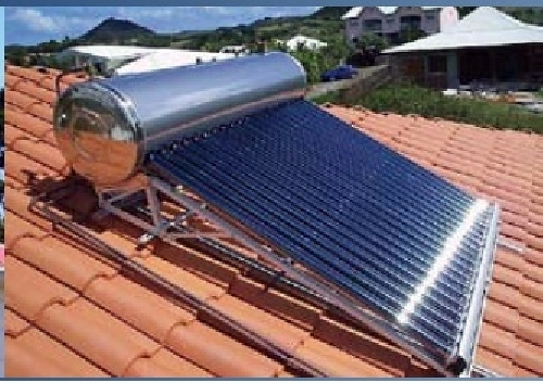 Kit solar termica domestico en techo
