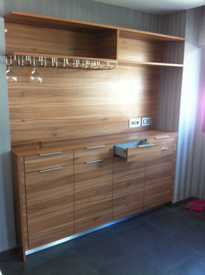 Foto mueble auxiliar para zona de comedor de deprococinas 954835 habitissimo - Muebles auxiliares comedor ...