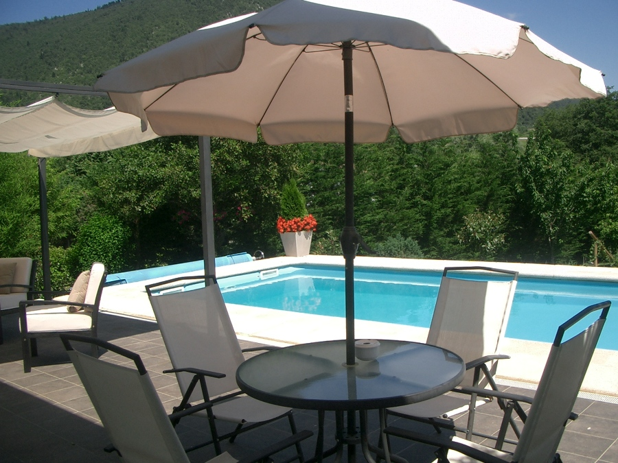 La piscina de Jose Mari y Nekane