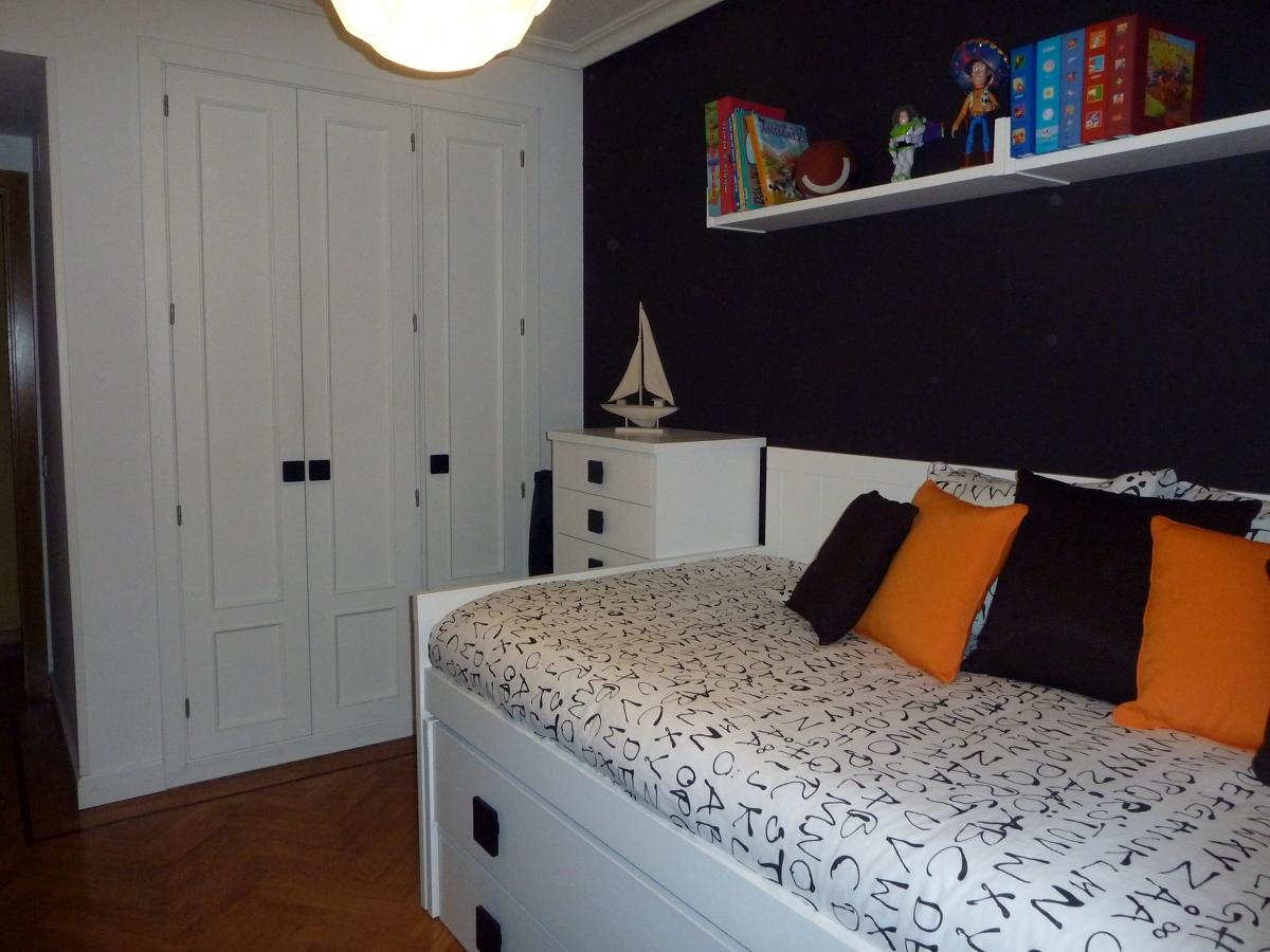 Foto lacado de frente de armario empotrado en el mismo - Armario de habitacion ...