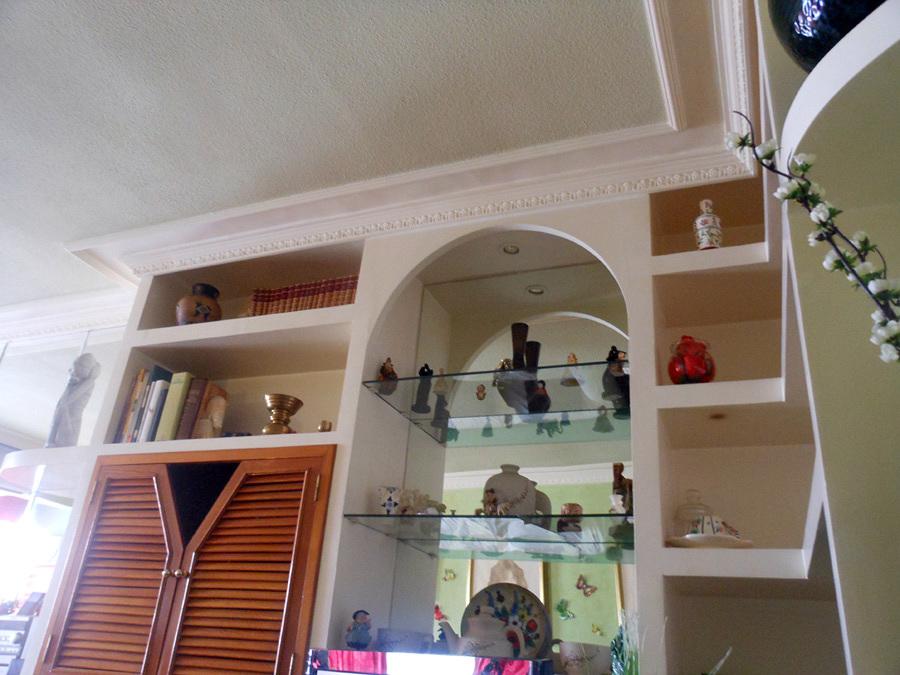 Foto lacado mueble de escayola de crom tica pintores - Mueble de escayola ...