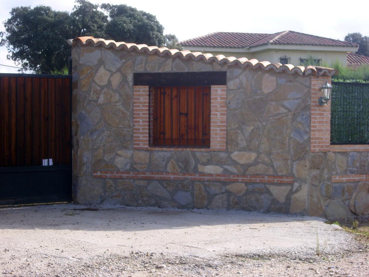 Foto ladrillo toledano y piedra de reformas y - Ladrillos de piedra ...