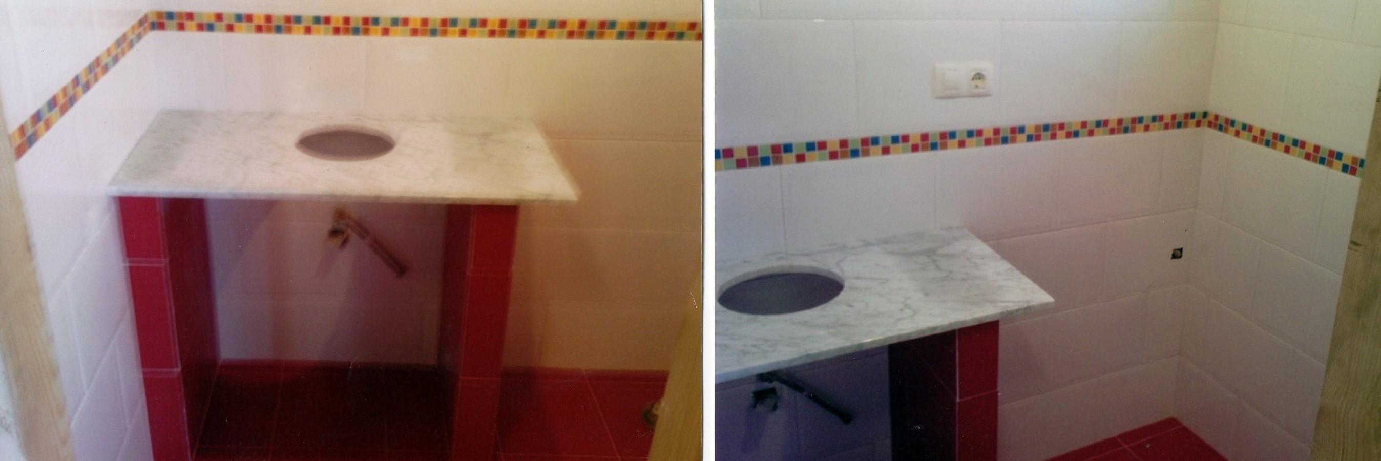 Foto lavabo de obra de reformas madi manuel d az gra a 208421 habitissimo - Lavabos de obra ...