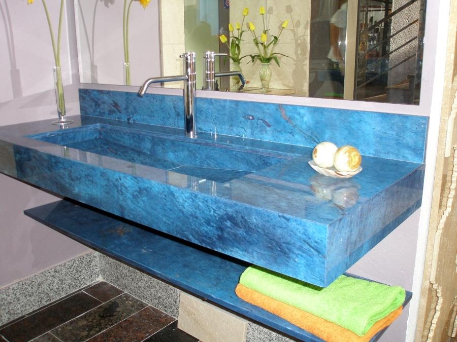 Foto lavabo m rmol tintado de marbres octavio 349287 - Lavabos de marmol ...