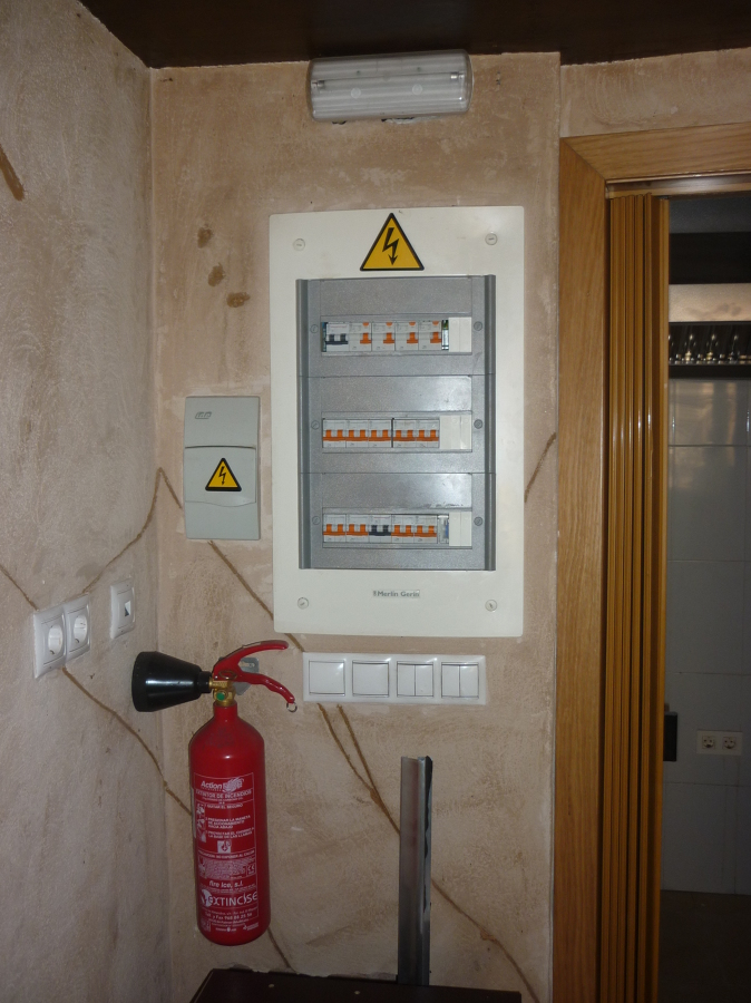 Legalización instalación eléctrica en bar sin Cocina