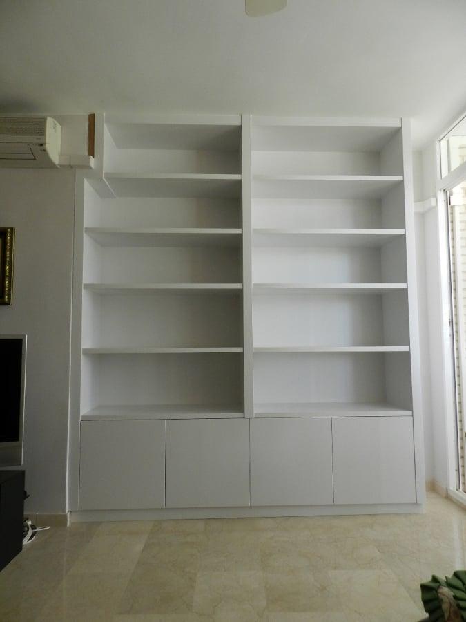 Foto librer a a medida de muebles de cocina cuinetyl for Muebles de libreria