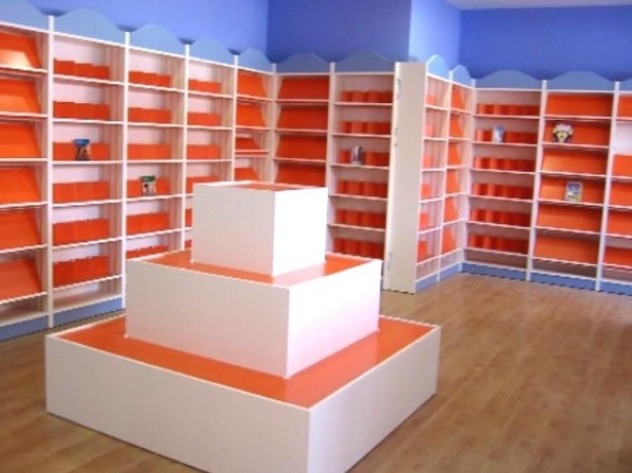 Foto librerias con cremallera prota estantes de eduardo - Mobiliario para negocios ...