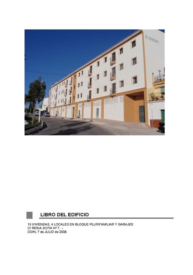Foto libro de uso y mantenimiento de edificios de a3 for Empresas de mantenimiento de edificios en madrid