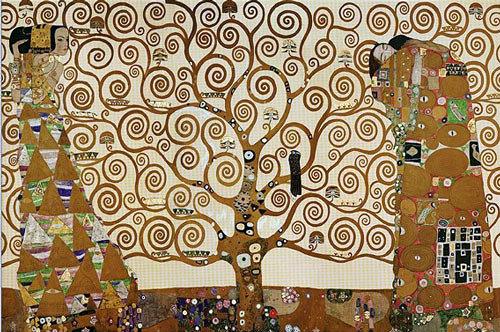 Lienzo El Arbol de la Vida de Gustav Klimt