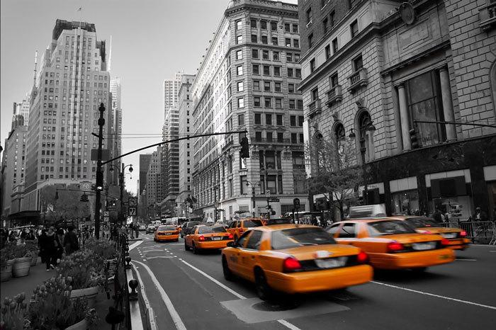 foto lienzo taxis nueva york de postersvip tienda de l minas y cuadros 140060 habitissimo. Black Bedroom Furniture Sets. Home Design Ideas