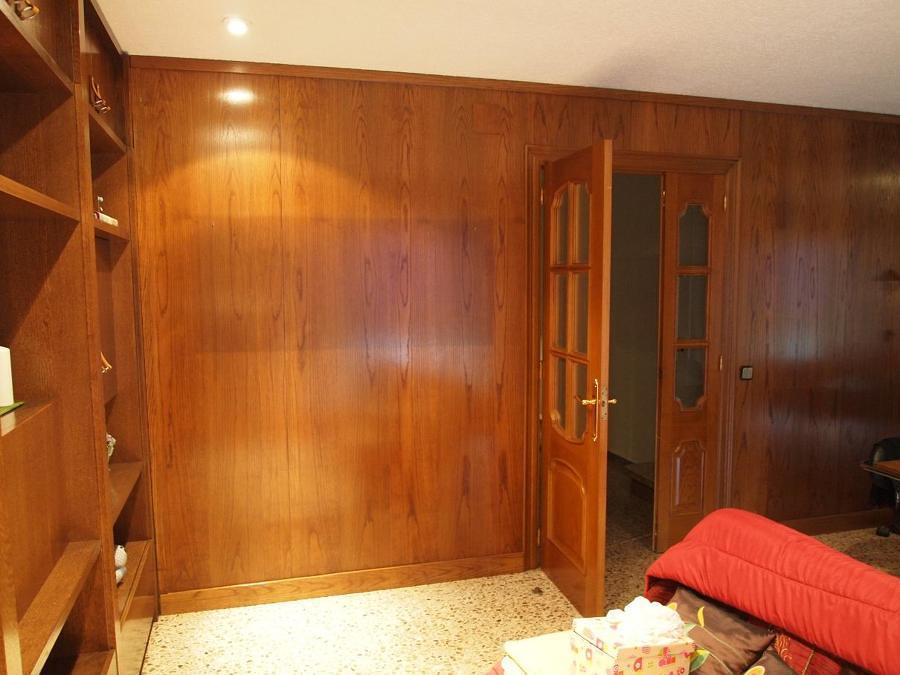 Paredes madera panelado forrado de paredes madera foto - Paredes de madera ...