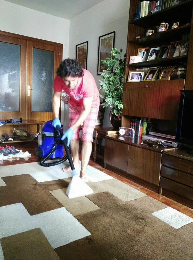 Foto limpieza de alfombras de newash iturrama 960512 - Limpieza casera de alfombras ...