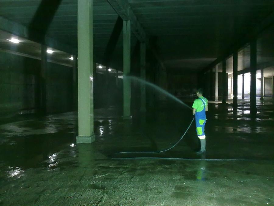 Limpieza de aljibes y depositos de agua