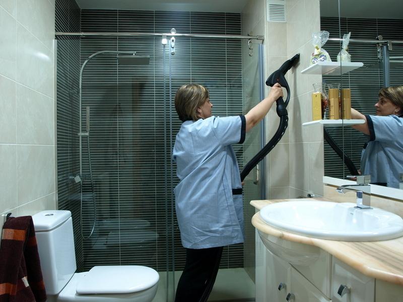 Foto: Limpieza de Baños a Máquina Vapor 160º de Brill2000, S.l. ...