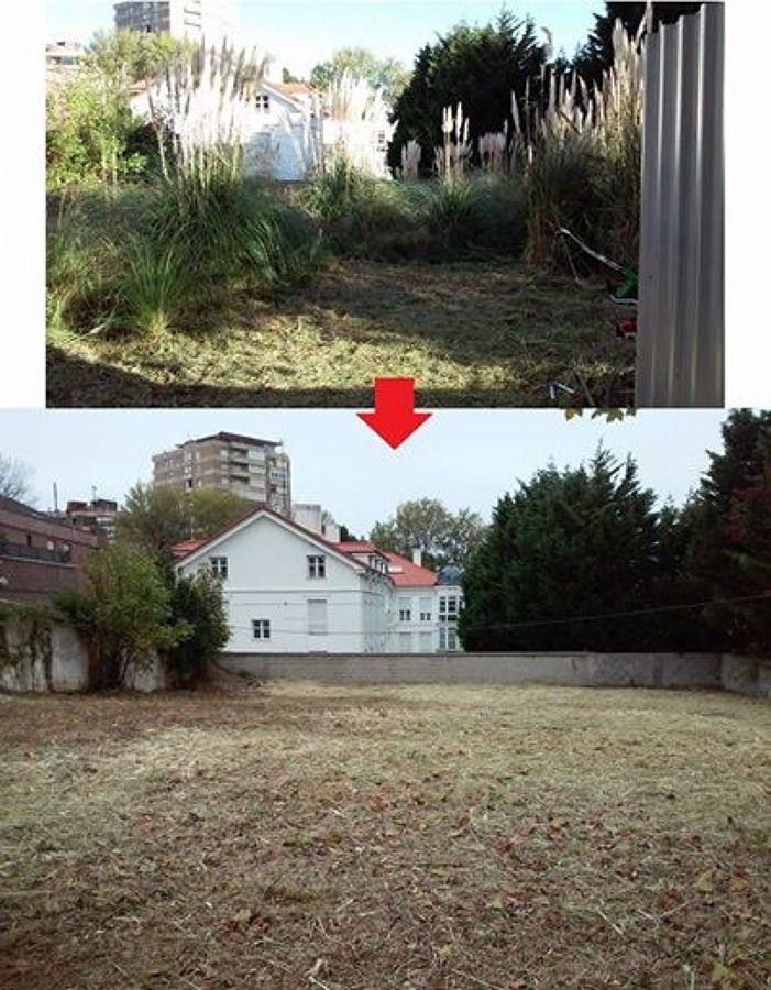Limpieza de jardines y fincas