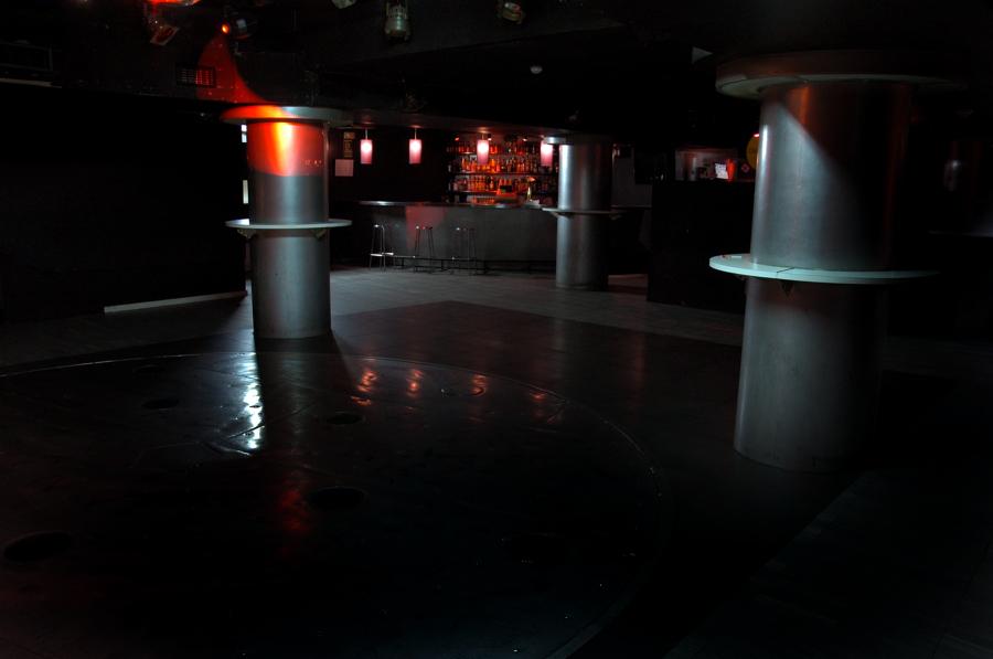 Limpieza en discotecas