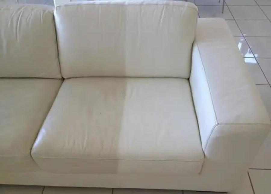 Limpieza y tratamiento sofás de piel