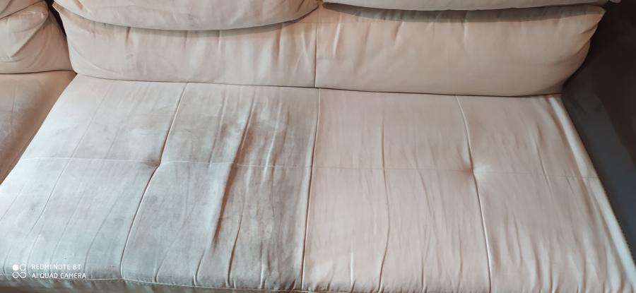 Diferencia desmanchado e higienización sofá