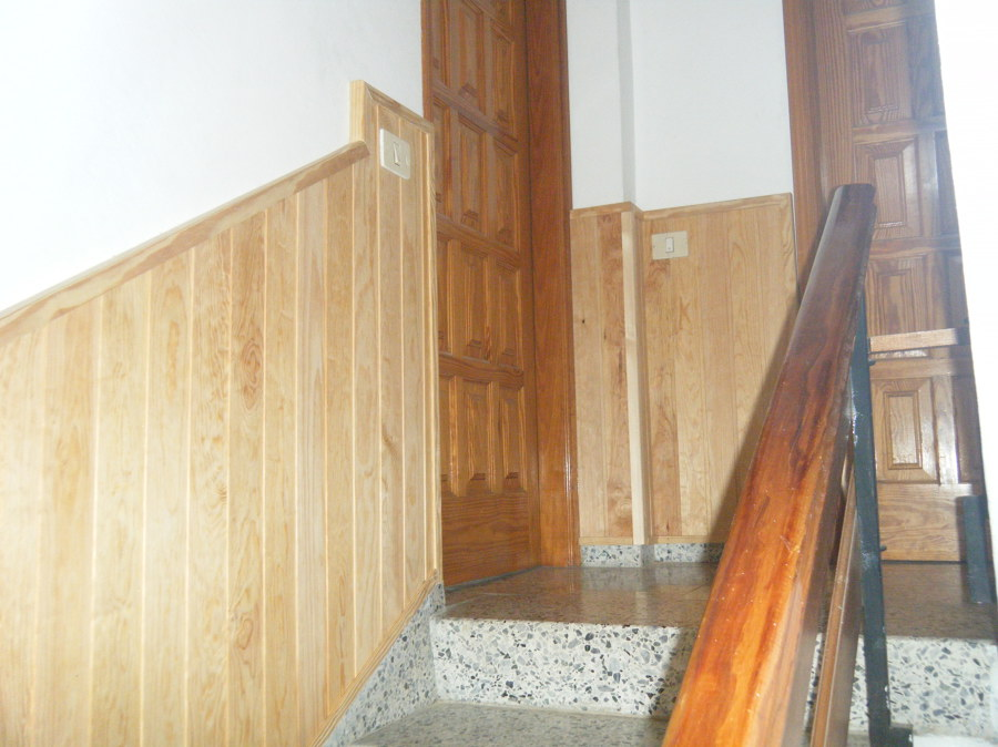 machimbreado escaleras