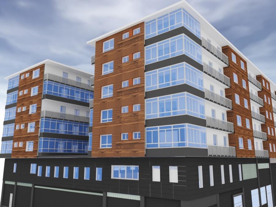 Proyecto de fachada ventilada en Orixe 42