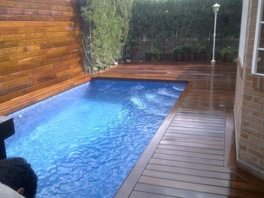 Madera de exterior ipe piscina