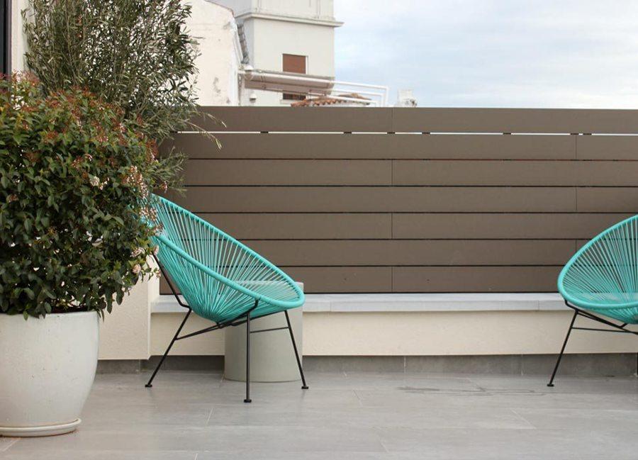 Suelos para terrazas exteriores sin obra