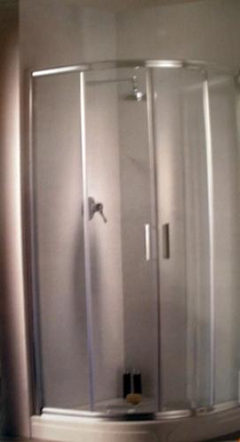 Foto mampara de ducha semicircular precio final de for Precio de mamparas