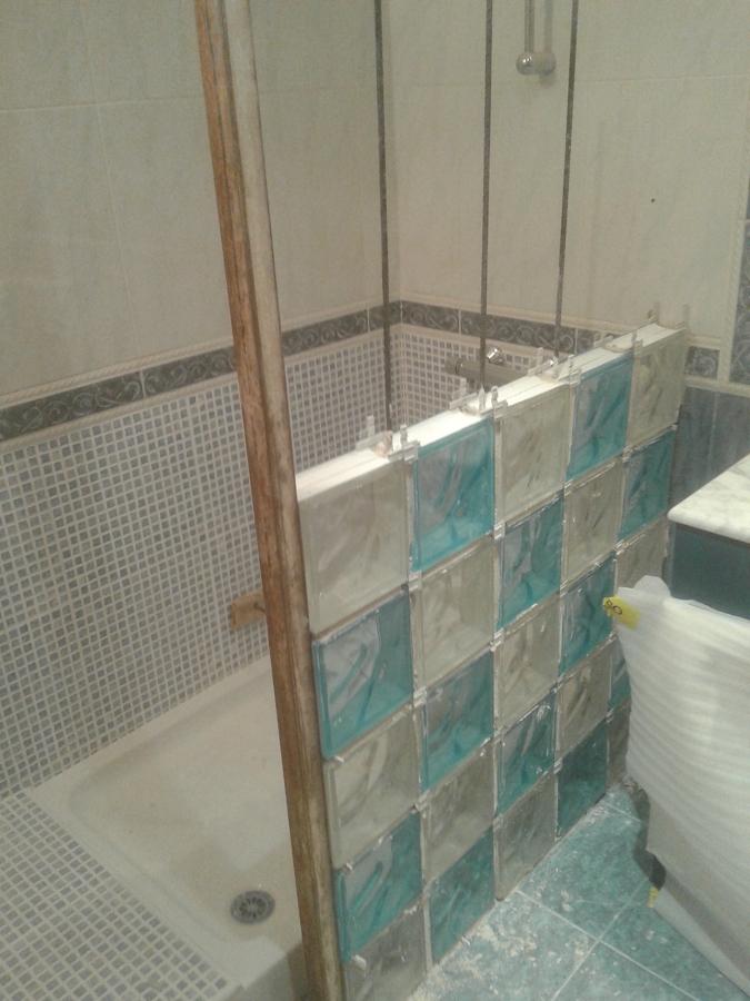 Foto mampara de pav s de reformascabrera 740193 - Hacer una mampara de ducha ...