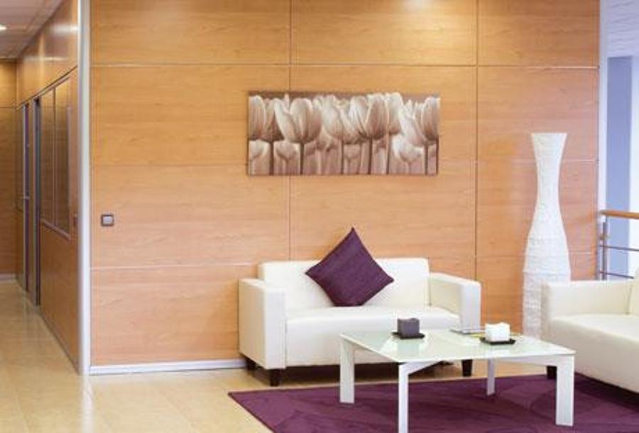 Foto mampara de sercosan equipamiento de oficina s l for Oficinas santander almeria