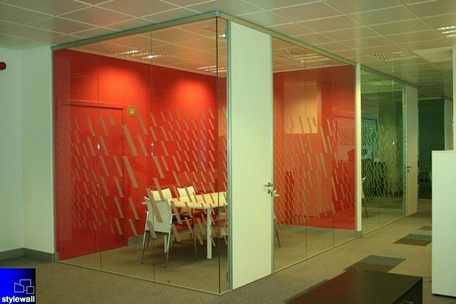 Foto mamparas divisorias de oficinas tabiques y muros for Mamparas divisorias para oficinas