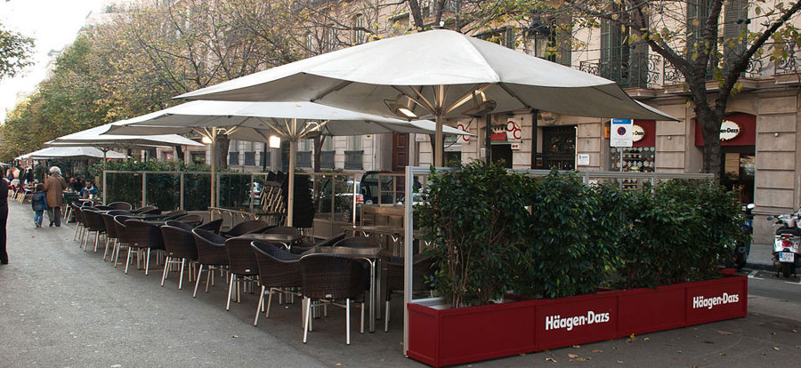 Foto mamparas y jardineras para terrazas de octanorm - Jardineras para terrazas ...
