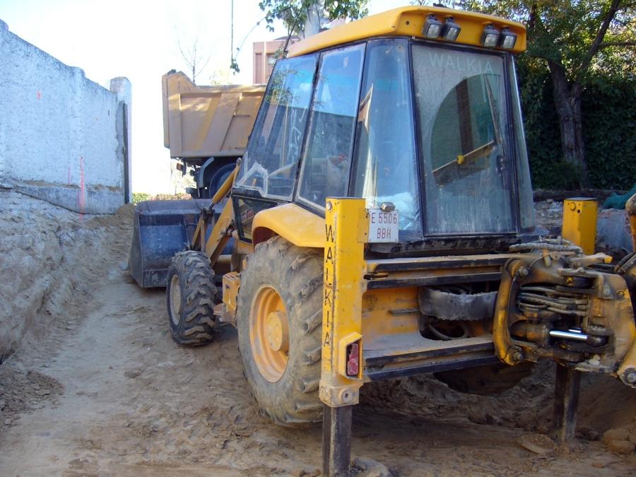 Maquina de excavación